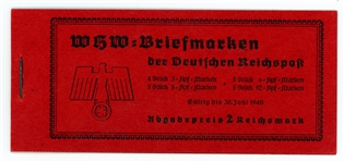 Germany Michel MH46 Complete Booklet, 1939 (€65)