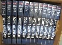 2019 Scott Catalogs - 12-Volume Set, Used But in Like-New Condition - OFFICE PICKUP ONLY!