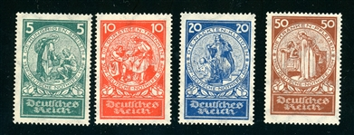 Germany Scott B8-B11 MNH Complete Set, F-VF (SCV $120)