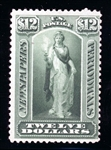 USA Scott PR75 MNG Fine, 1879 $12 Issue with 2003 PFC copy (SCV $325)