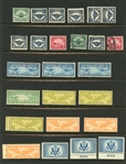 USA Airmail Mostly Mint Accumulation (Est $200-250)