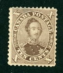 Canada Scott 16 Used Fine, Thin, Rare Stamp (SCV $6500)