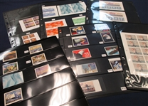 USA High Value Singles, Plate Blocks, and Sheets - All MNH (Face $1185)