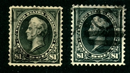 USA Scott 276, 276A Used, F-VF, Faults (SCV $295)