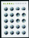 USA Global Forever Stamps Mint (Face $52)
