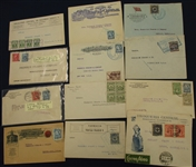 Colombia Postal History Group (Est $50-80)