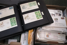 2 Banker Boxes with USA Covers - OFFICE PICKUP ONLY!