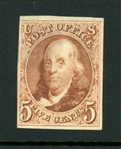 USA Scott 3 MNG, 3+ Margins (SCV $900)