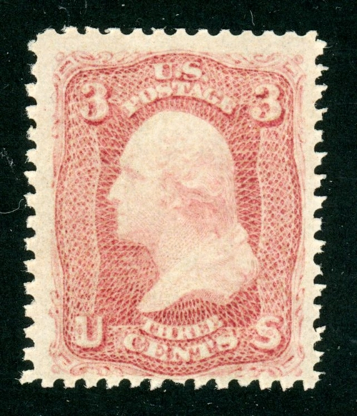 USA Scott 65 MNH F-VF with 2021 Crowe Certificate (SCV $125++)