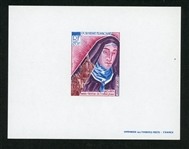 French Polynesia Scott C94 Deluxe Proof, 1973 St Theresa  (Est $50-100)