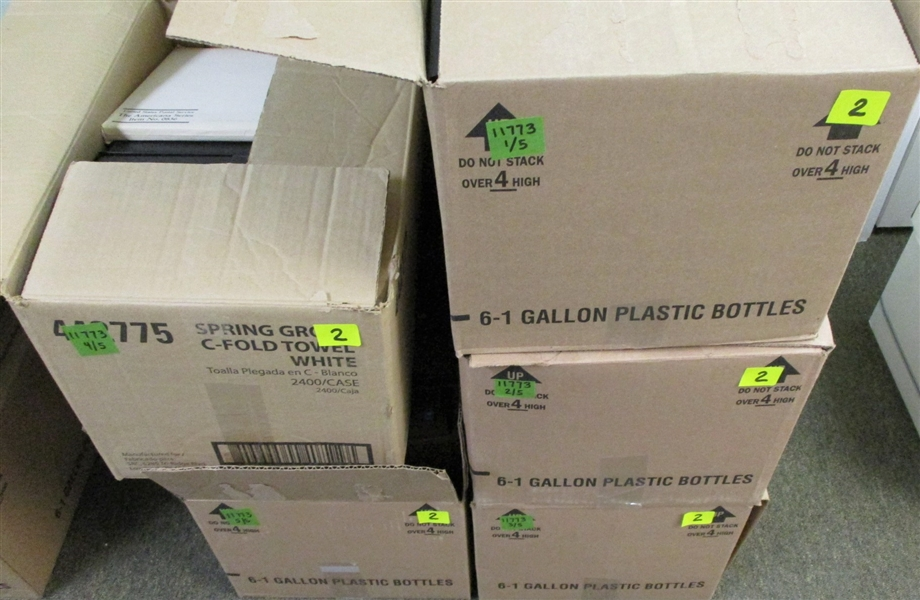 5 Large Boxes - Dealer Backroom Cleanout - OFFICE PICKUP ONLY!