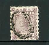 Great Britain Scott 75 Used Fine 1878 £1 Victoria (SCV $4500)